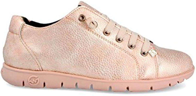 Sneaker Zapatilla Mujer Teemo-W Claudia Oro Slowwalk
