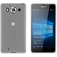 Muvit MUSKI0615 - Funda para Microsoft Lumia 950, transparente