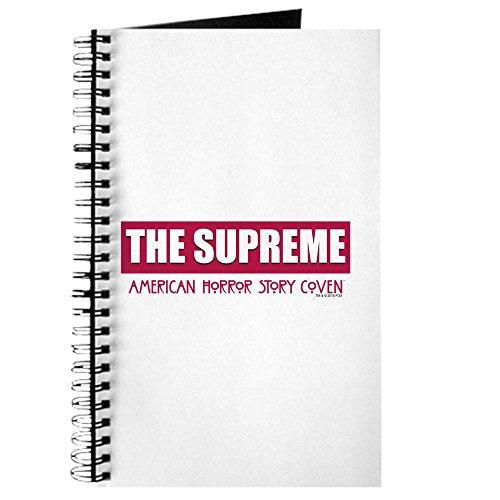 CafePress - The Supreme - Spiralgebundenes Tagebuch, persönliches Tagebuch, Punktraster (Die Supremes Weihnachten)