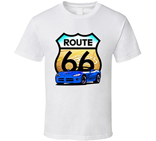 blue-2002-dodge-viper-route-66-street-sign-cool-car-t-shirt-xlarge