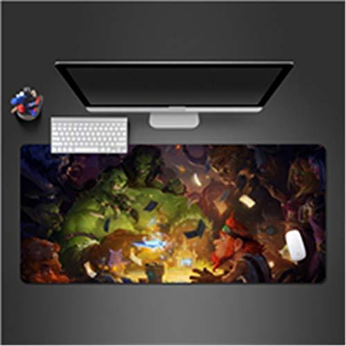 Anti -Rutsch-Pad kann gewaschen Werden Gummi-Computer-Tastatur-Maus-Pad-Spiel-Maschine Geschenk 800x300x2 (Fußball Pads Kostüm)