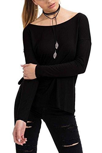 trueprodigy Damen T-Shirt Soyala, (Schwarz 2999), X-Large (Herstellergröße: XL)