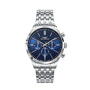 RELOJ SANDOZ swiss made HOMBRE 81469-37 MULTIFUNCION