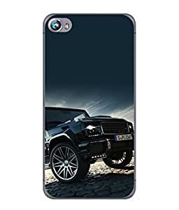 Snapdilla Designer Back Case Cover for Micromax Canvas Fire 4 A107 (Wheels Transport Drive Travel Comfort Picture)