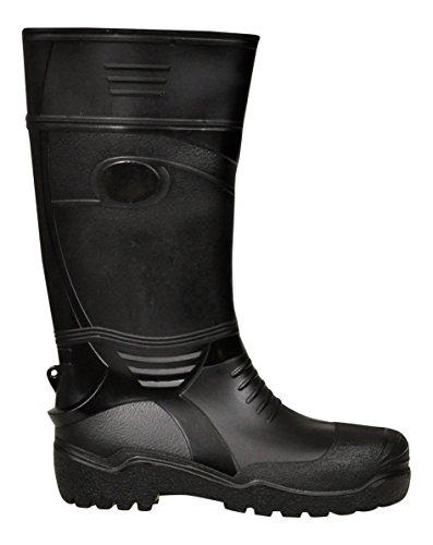 Lukpol Mens Waterproof Outdoor Wellies Rain Snow Boots Model-410