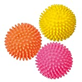 Trixie Igelball, Vinyl Hundespielzeug Apportierspielzeug Balle für Hund 2 Größen (ø 7 cm (3414))