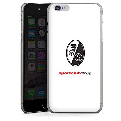 Apple iPhone X Silikon Hülle Case Schutzhülle SC Freiburg Fanartikel Fußball Hard Case anthrazit-klar