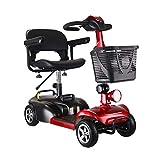 WM Älterer Roller, Faltbarer Elektro-Roller, Behinderte Ältere Allrad-Elektrofahrzeug