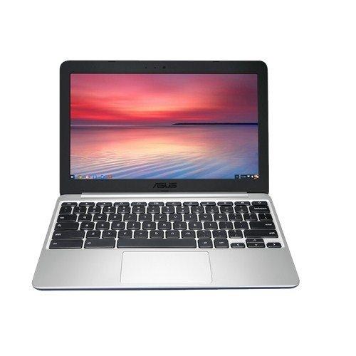 ASUS C201PA-FD0007 - Ordenador portátil (Rockchip RK3288C Quad-Core Cortex-A17, 2 GB de RAM, disco duro de 16 GB, Chrome OS) - Teclado QWERTY Español