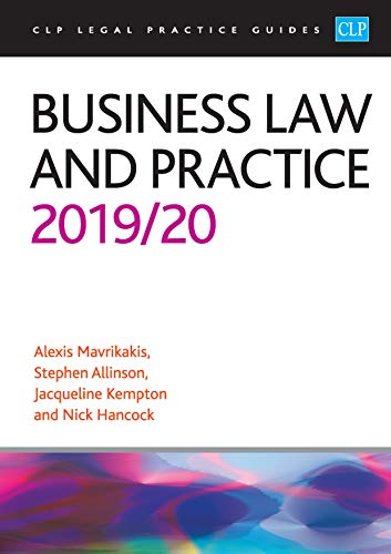 Business Law and Practice 2019/2020 (CLP Legal Practice Guides)