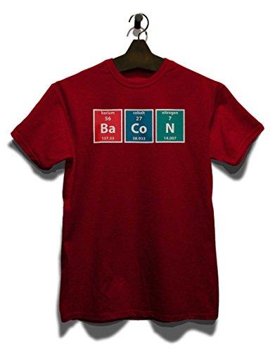 Bacon Elements T-Shirt Bordeaux