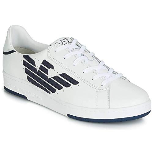 09e16a3df9725b Bestseller Nr. 2 Emporio Armani EA7 Millenium U Sneaker Herren Weiss - 42 -  Sneaker Low