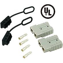 Spurtar Cable de batería de 50 A para desconexión rápida, compatible con cable de calibre