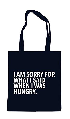 I Am Sorry For What I Said-I Was Hungry Sac Noir