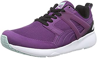 Puma Aril Basic Sports Wn's, Sneakers Basses Femme - Violet (grape Juice-black-fair Aqua 07), 41 EU