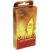 Preisvergleich für Cacharel Amor Hot Moments Kondome 12er Pack, 1er Pack (1 x 12 Stück)