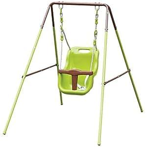 Baby toddler garden swing childrens kids indoor outdoor for Baby garden swing amazon