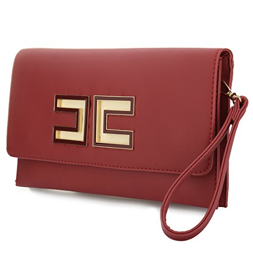 YYW Evening Bag, Borsetta da polso donna Red
