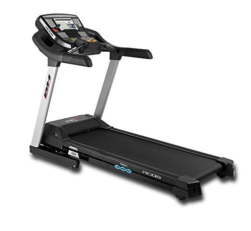 Bh Fitness RC09 G6180 - Cinta de Correr, Motor 4.0 Cv - 22 Km/h , Monitor Dot Matrix, Inclinación Eléctrica Hasta El 12%