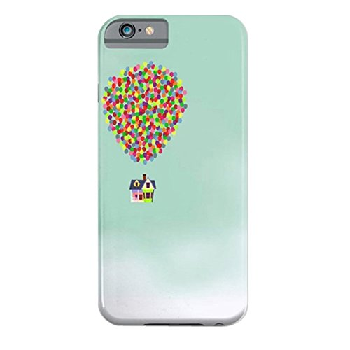 Cover iPhone 6s,TPU Gel Silicone Protettivo Skin Custodia Protettiva Shell Case Cover Per Apple iPhone 6 6S-Galassia Up