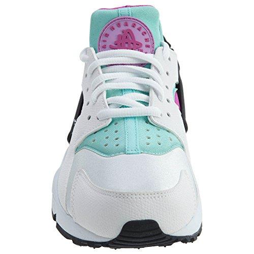 Nike Bianco Rosa Flash Donna Pompe Scarpe Da Ginnastica Scarpe Taglia UK 3