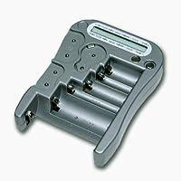 Tester Universale di Pile con schermo digitale - 3 Pulsante Analogico