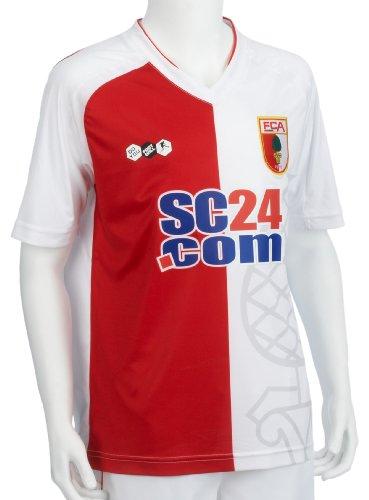 FC Augsburg FCA T-Shirt Gr/ün Gr L Bundesliga Fan-Artikel 29808