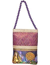 Tbh Women's Mobile Potli (Purple, TBH0M17)