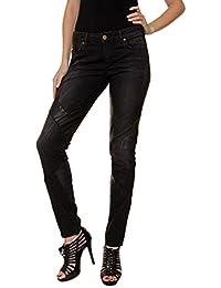 Maison Scotch - Jeans - Slim - Femme Noir Noir