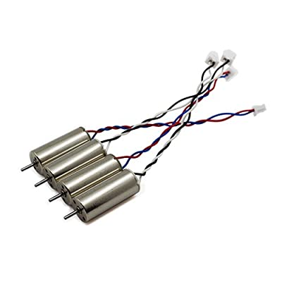BTG 4PCS 2S 7.4V 8520 8.5x20mm Mini Coreless Upgraded High Speed Motors for Tiny QX90 QX95 LT105 90mm-130mm wheelbase DIY Micro FPV Quadcopter Nano Racer Drone
