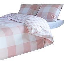 suchergebnis auf f r karierte bettw sche rosa. Black Bedroom Furniture Sets. Home Design Ideas