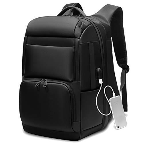 """MAICOLA Laptop-Rucksack Männer Schwarz-Spielraum-Rucksack Computer-Rucksack Große Kapazität Teenager Anti-Dieb Tasche USB-Lade 17.3\"""""""
