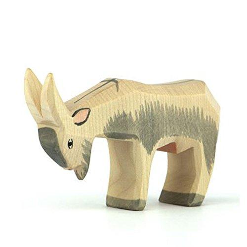 Kleinkindspielzeug Tiere in Klarsichtröhre 3-6 cm groß NEU Happy People 43217