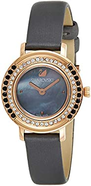 Swarovski Women's Black Leather Band Watch - 524