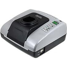 Powery Cargador de batería con USB para Ryobi One+ Fresadora portátil CSS-1801M