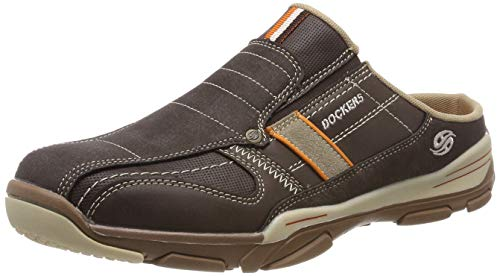 Dockers by Gerli Herren 42HY002-600320 Clogs, Braun (Cafe 320), 42 EU