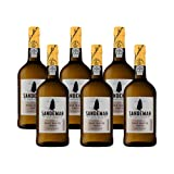 Portwein Sandeman White - Dessertwein - 6 Flaschen