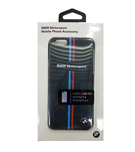 BMW Hard case For iPhone 6/6S Split Tricolor Stripe - Card Slot - Blue