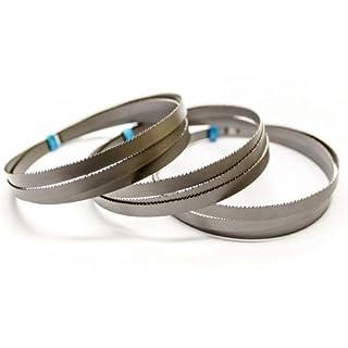 3 x Bimetall Sägeband 733 x 13 x 0,5 mm mit 18 ZpZ für Akku Bandsäge Bosch GCB 18 V-Li Prof.