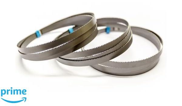 3 x M42 HSS Bimetall Sägebänder Sägeband 2240 x 13 x 0,65 mm 10//14 ZpZ Edelstahl
