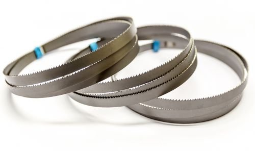 3 x Bimetall Sägeband 835 x 13 x 0,5 mm mit 18 ZpZ für Akku Bandsäge DeWalt DCS371N