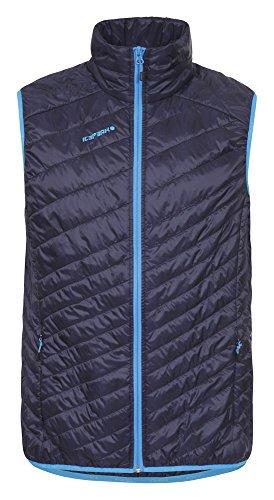 Icepeak Herren Vest Gianni, Navy Blue, 50, 558960640I