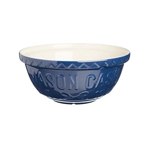 Mason Cash Saladier Varsity S24, Bleu/Blanc, 24 cm