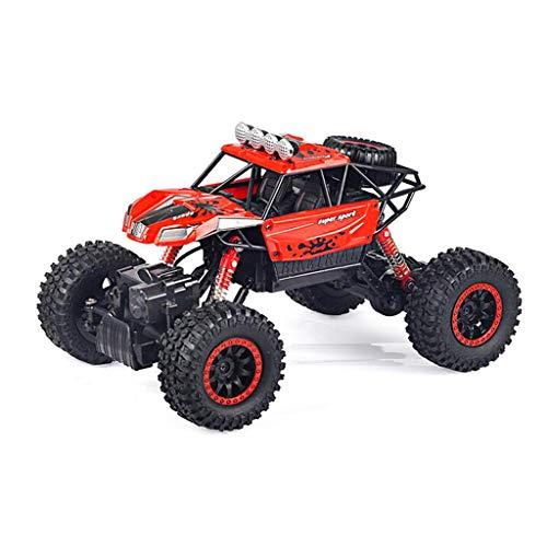 Fernbedienung Auto 4WD Fernbedienung Rock Crawler Typ 2.4Ghz Fernbedienung Buggy Kinder und Erwachsene Auto (Color : 2)
