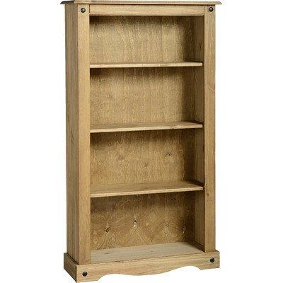Corona Bücherregal breit Holz 150,5cm Standard Standard-bücherregal
