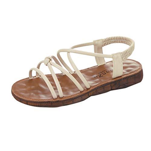 Dhyuen Platforms Wedges Schuhe für Frauen Wohnungen Sandalen Weichen Boden Strand Regen Schuhe Mode Lässig Wilde Sandalen
