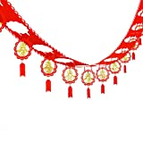 beIilan Fu Garland Striscione Appeso Lanterne Lanterne Capodanno Primavera Decorazione Festa Arredamento Cinese Imposta Festival di Primavera Arredamento del Ristorante Tatuaggi
