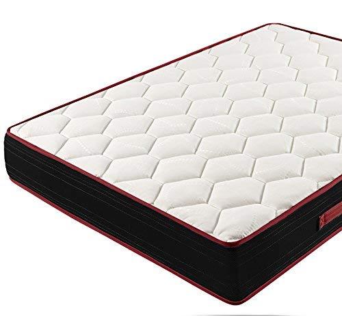 HOGAR24 Memory Fresh 3D - Colchón Viscoelástico Reversible, 90 x 180 cm
