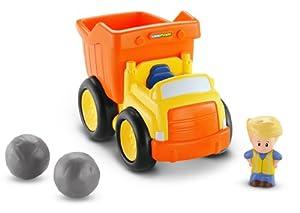 Fisher-Price Little People Kiepauto vehículo de Juguete - Vehículos de Juguete (Negro, Naranja, Amarillo, Little People, 1 año(s), 5 año(s), Niño, 1 Pieza(s))