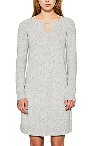 ESPRIT Collection 117eo1e005 Robe, Gris (Light Grey 5 044), Small Femme